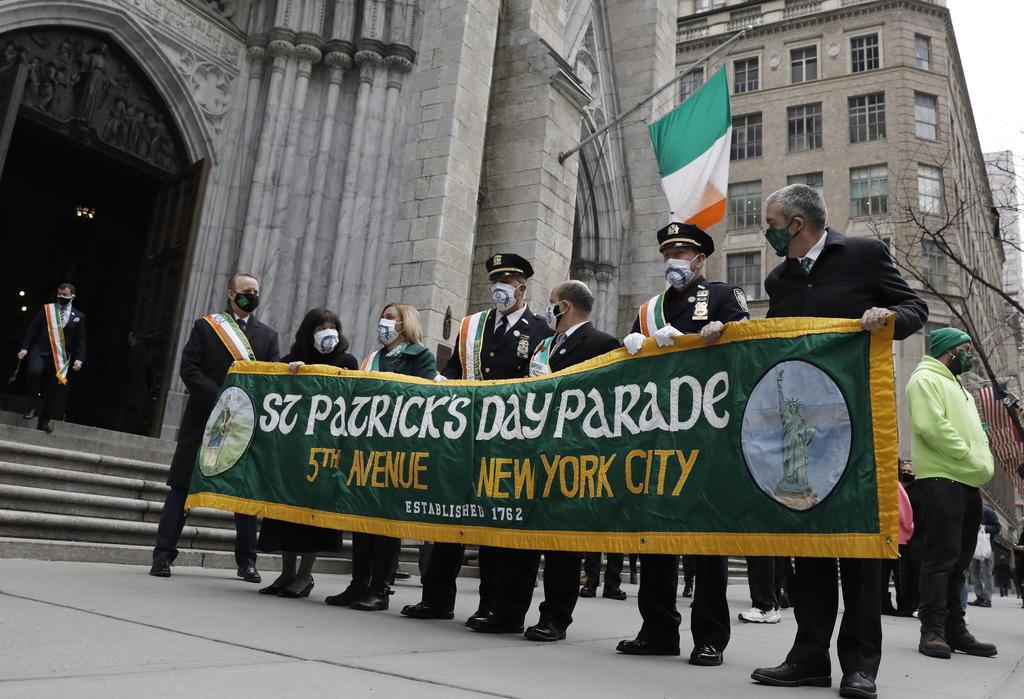 Celebra EUA el Día de San Patricio con calles vacías y eventos virtuales