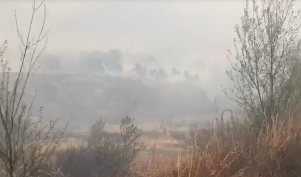 Ceniza de macro incendio forestal en Arteaga eleva contaminación en Monterrey