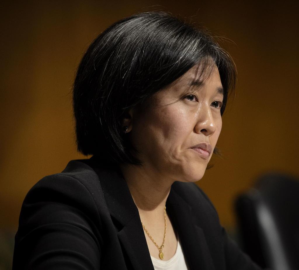 Senado confirma a Katherine Tai como representante comercial de EUA