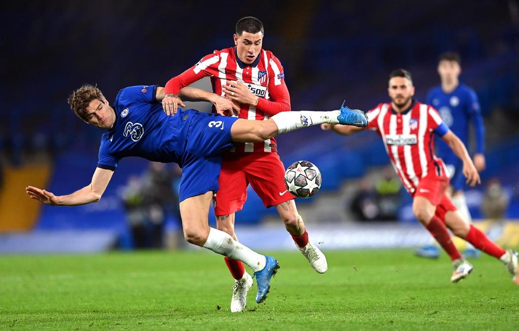 Chelsea elimina al Atlético de Madrid de cuartos en la Champions