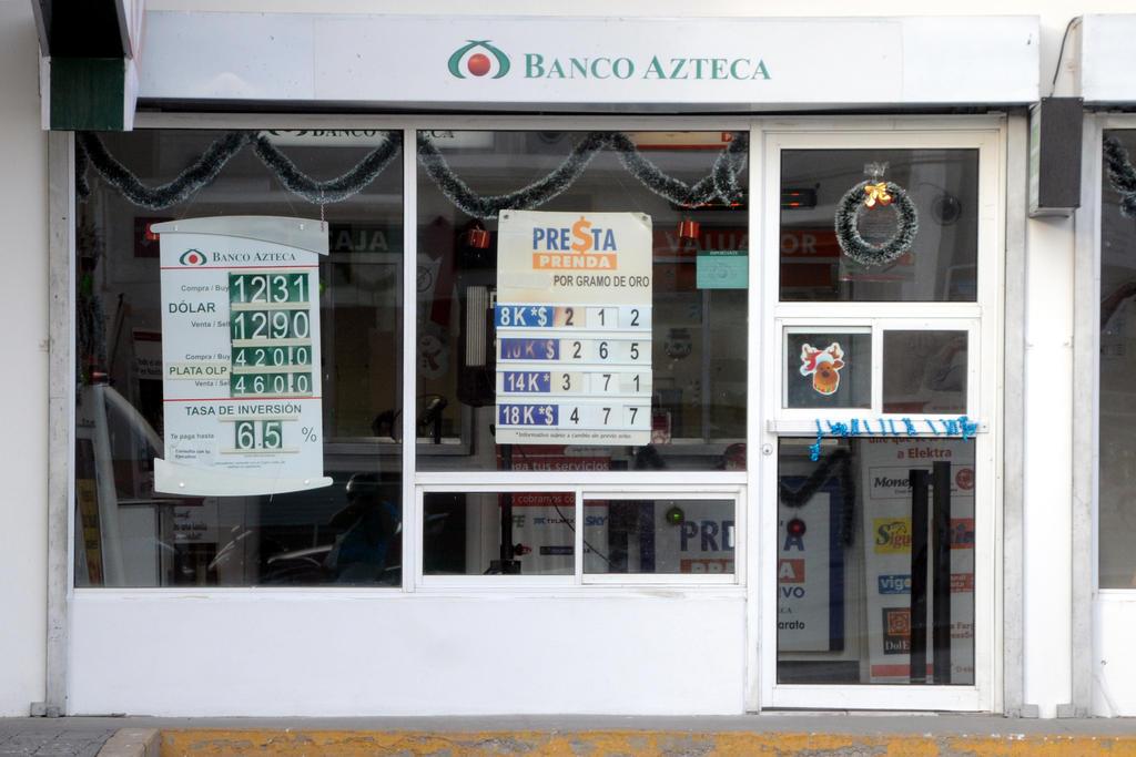 Alertan que podría haber más afectados por robo de ahorros en Banco Azteca