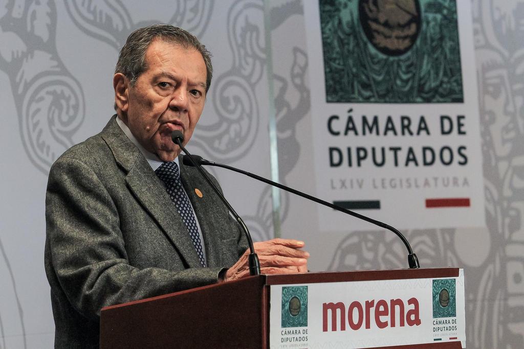 Amaga Muñoz Ledo con renunciar a Morena por falta de transparencia en candidaturas