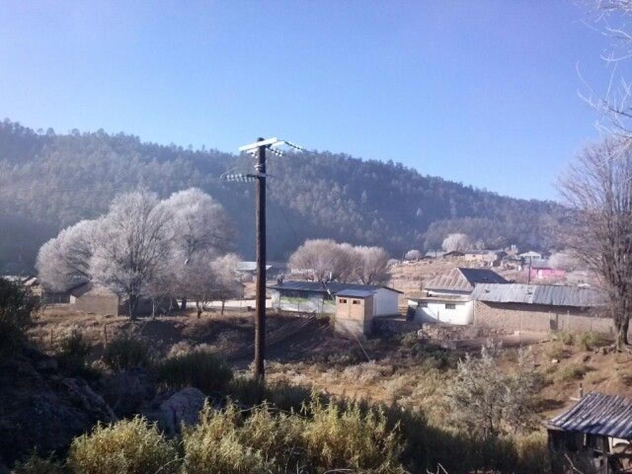 Una mañana fría en la zona urbana
