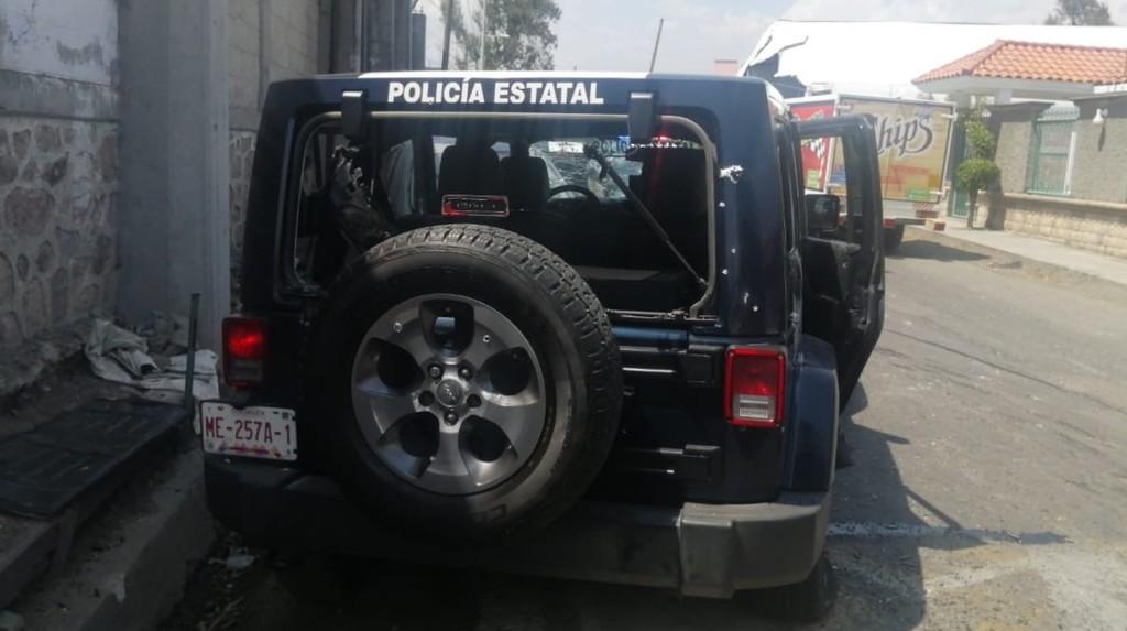 Emboscada deja 13 policías muertos en Edomex