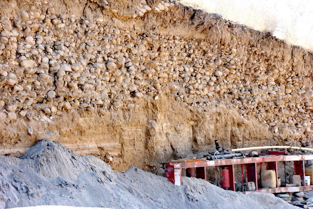 Destruyen en Puebla vestigios prehispánicos