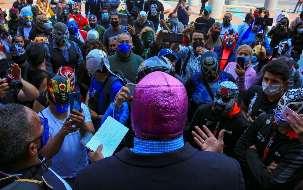 Luchadores exigen apoyo de autoridades