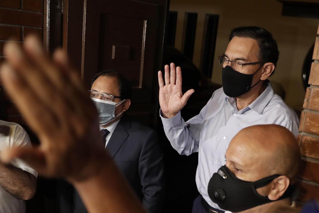Martín Vizcarra evita la prisión preventiva