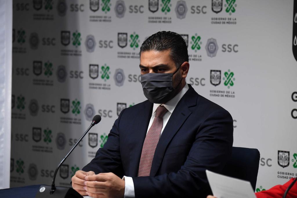 'No nos van a distraer mensajes falsos de criminales', dice García Harfuch