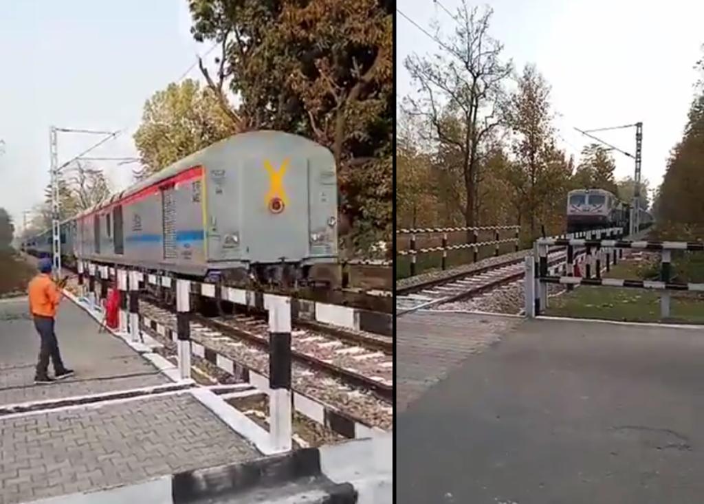 Tren de pasajeros se queda sin frenos y comienza a ir marcha atrás en la India