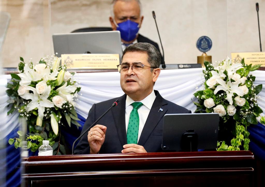 Insiste EUA en vincular a presidente de Honduras con supuesto narco
