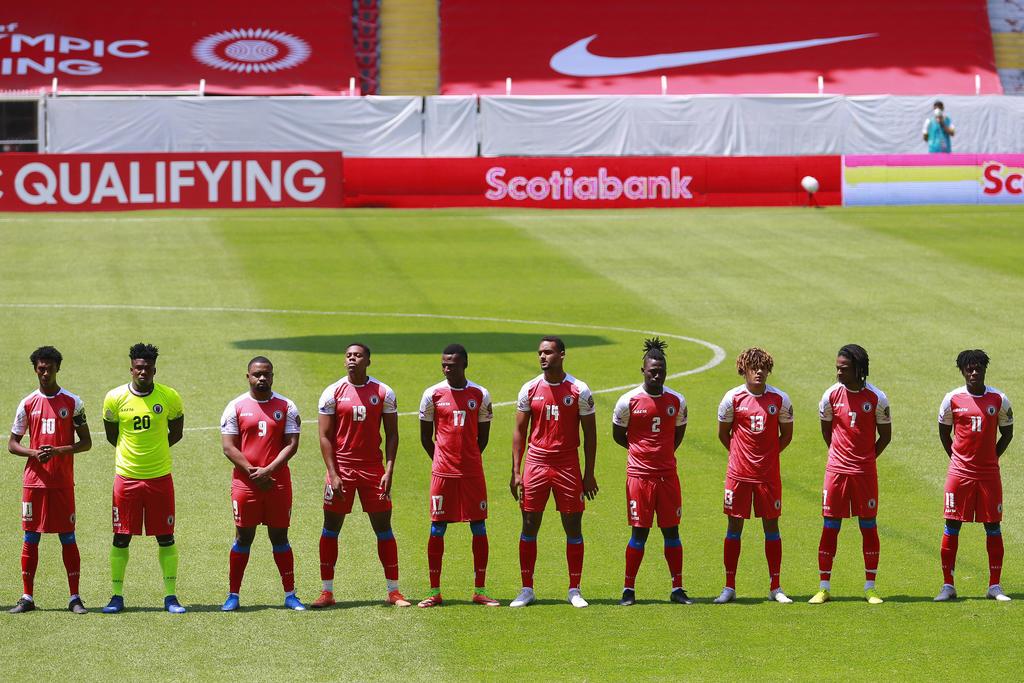 Selección de Haití debuta con un defensa de portero en el Preolímpico