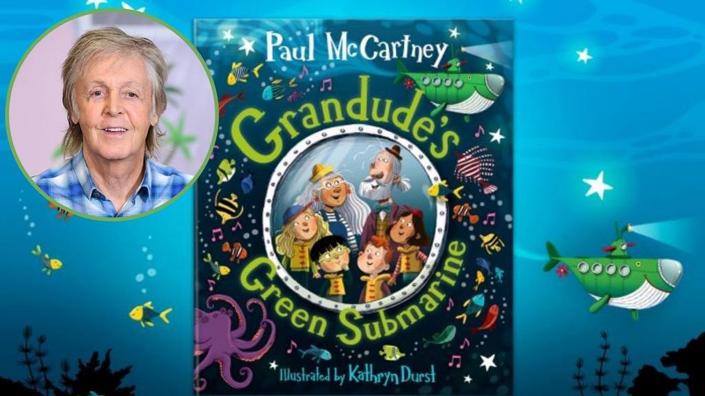 Paul McCartney publicará su segundo libro infantil sobre un submarino