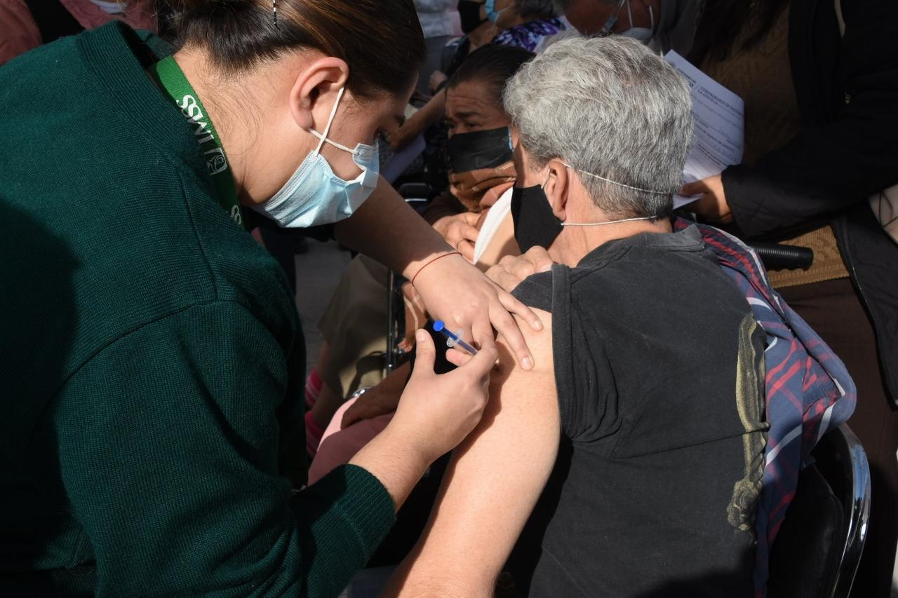 Aplicadas el 62.6% de las vacunas que han llegado