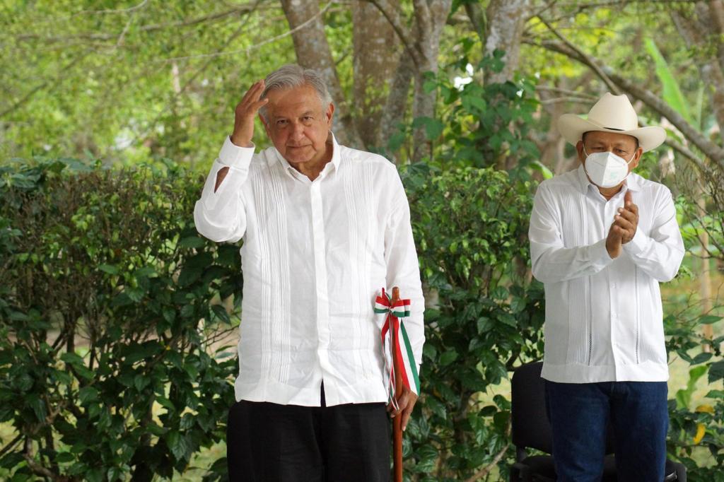 Afirma AMLO que gobierno busca garantizar estado de bienestar en México