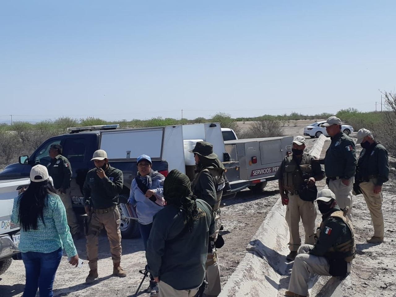 Encuentran fosa en Tlahualilo; localizan huesos y casquillos