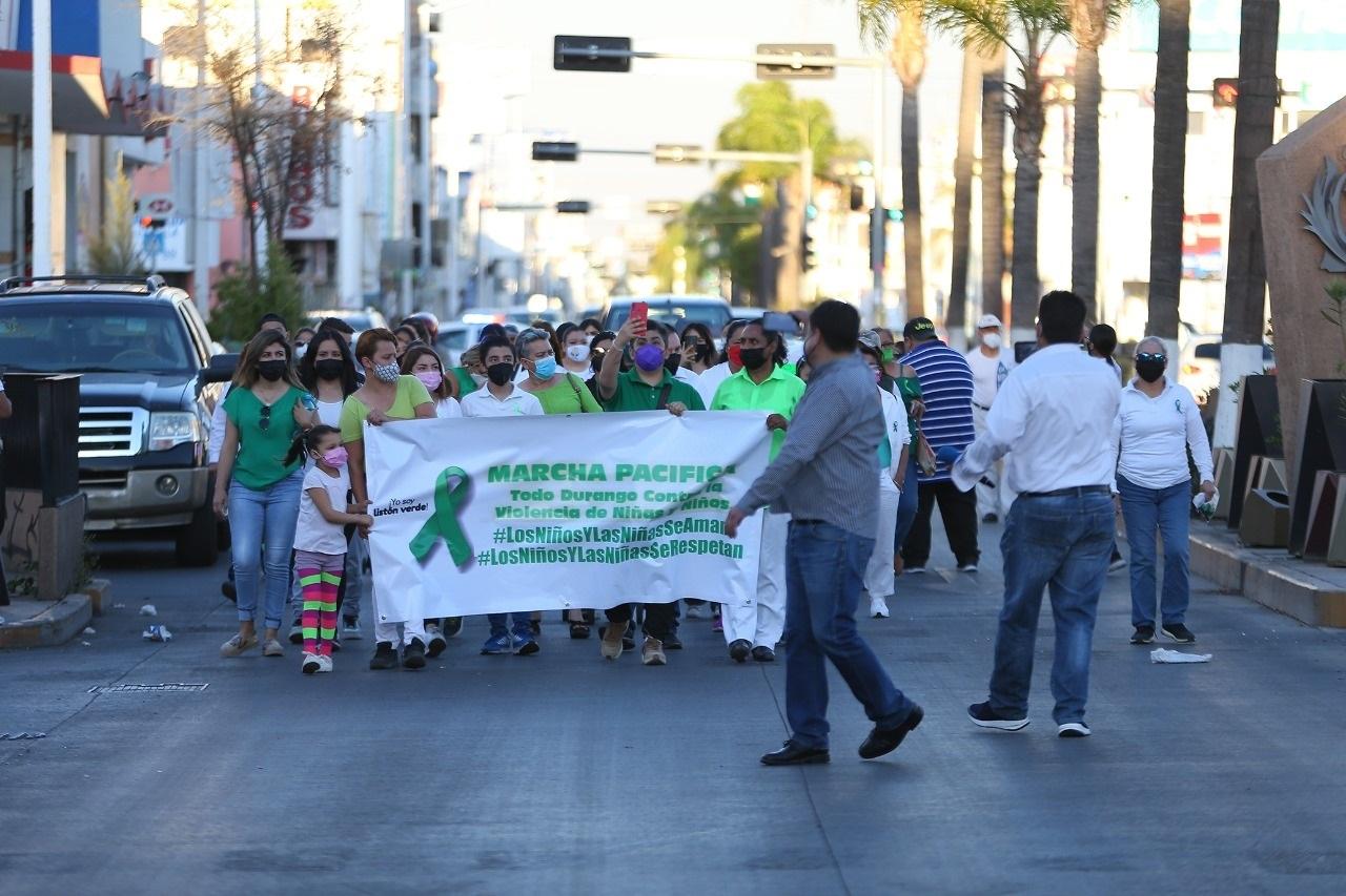Protestan contra casos de violencia en Durango