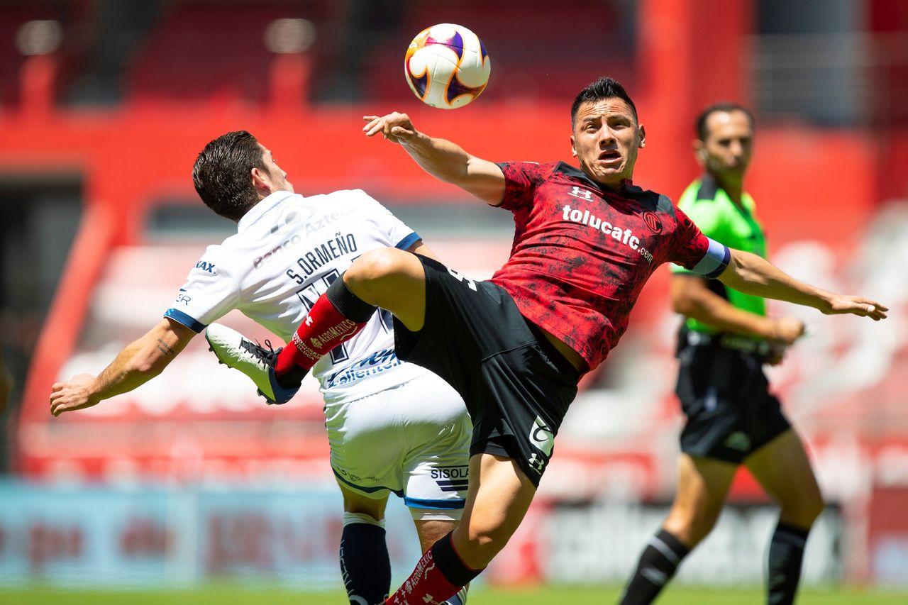 Toluca y Puebla dividen puntos