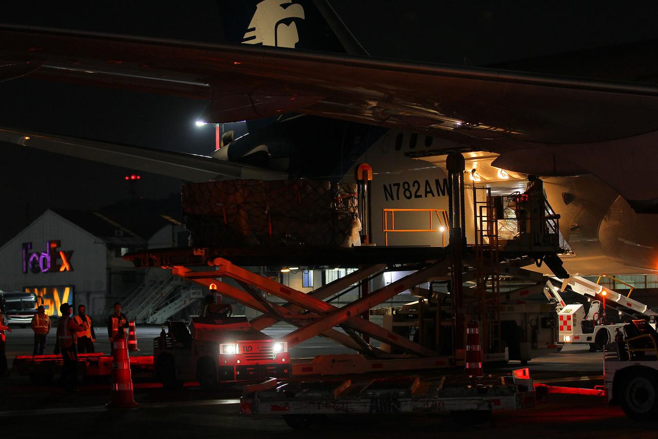 Tráfico de carga aérea supera nivel preCovid