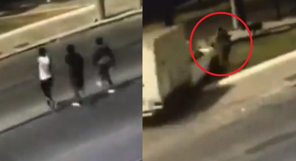 Sujetos asaltan a conductor en Guadalajara y él los atropella