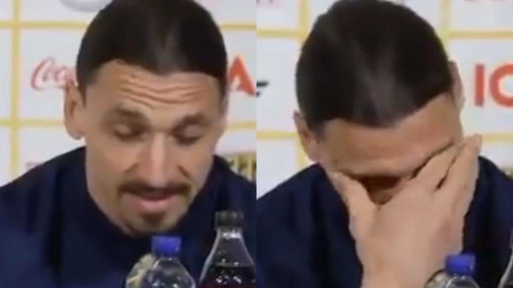 VIDEO: Zlatan Ibrahimovic rompe en llanto en su regreso a la selección de Suecia