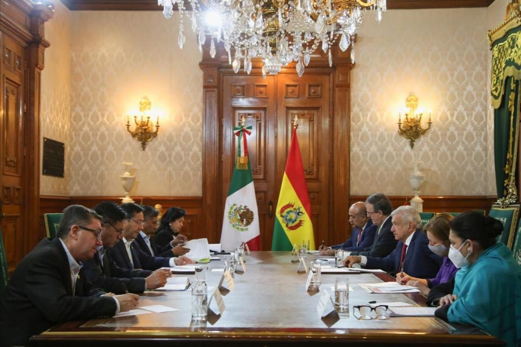 Emite México y Bolivia declaración conjunta tras encuentro