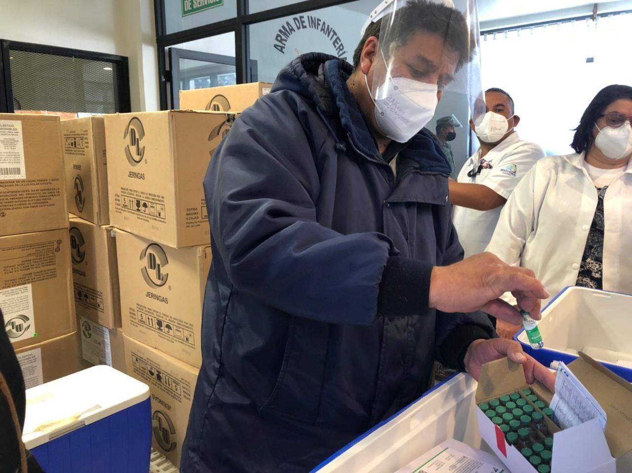 Capital de Durango tendrá vacuna hasta Semana Santa