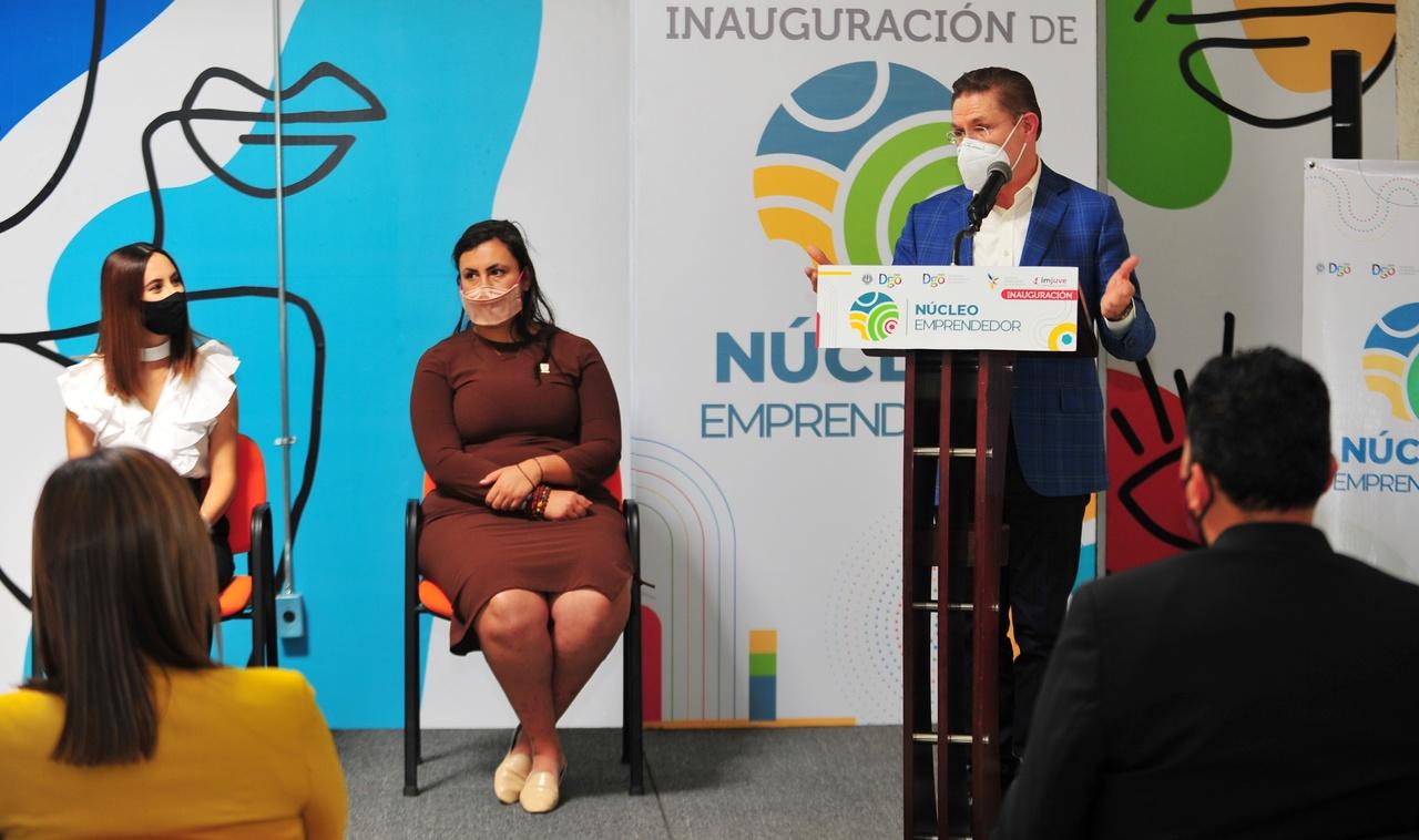 Más espacios de creación, innovación y desarrollo para negocios de duranguenses: Aispuro