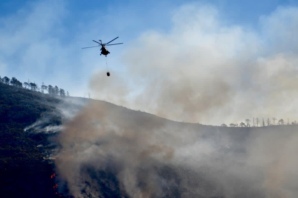 Confirman incendio en Arteaga por carne asada