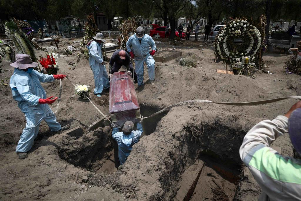 Azota mortalidad por COVID a 50 municipios en México