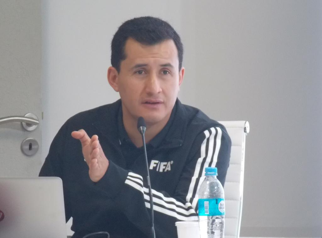 El chileno Enrique Osses es el nuevo director de área técnica de la Comisión de Arbitraje