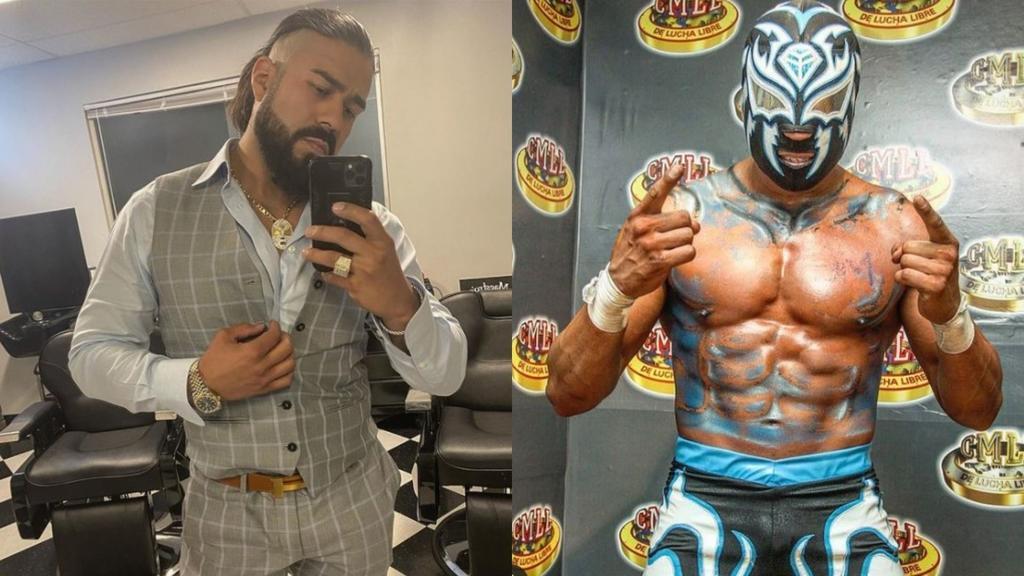 'Nada de esperar'; Andrade inicia pláticas sobre su futuroen la lucha libre