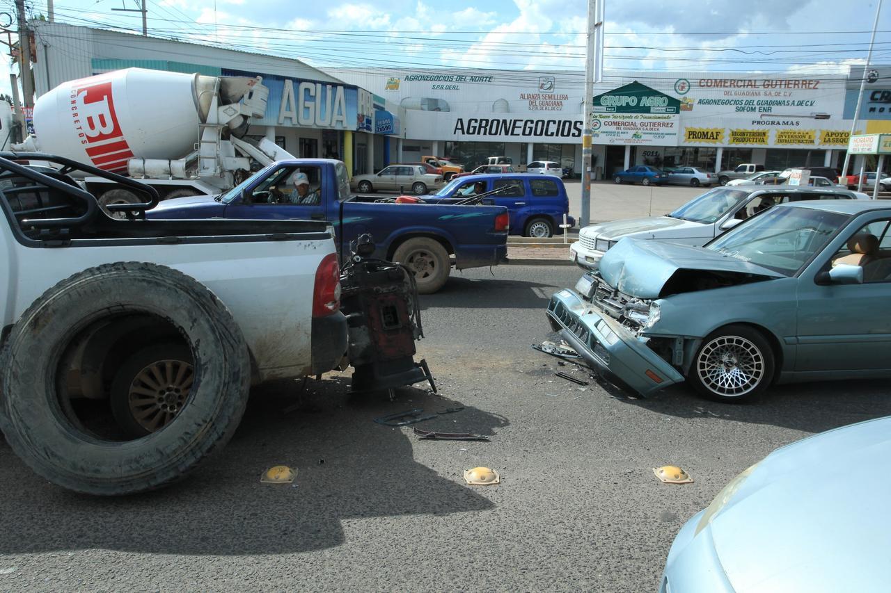 Se registraron 14 accidentes automovilísticos este jueves