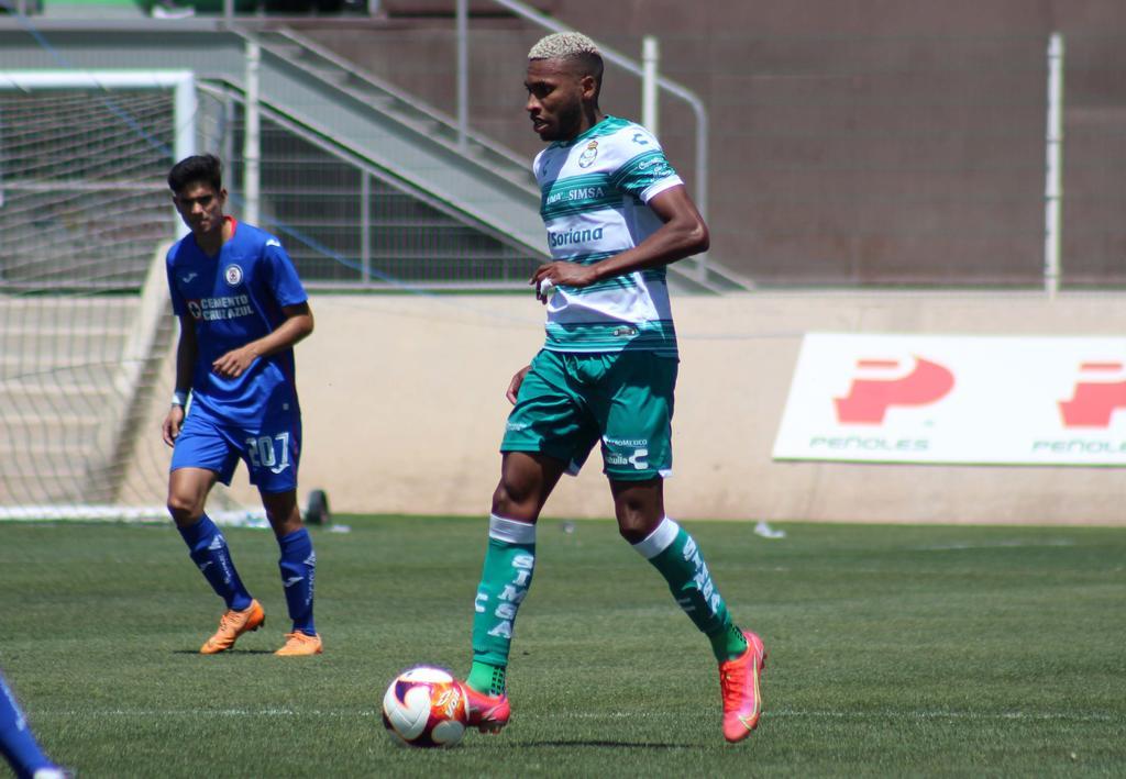 Gana Sub-20 de Santos ante Cruz Azul, vuelve a marcar Preciado