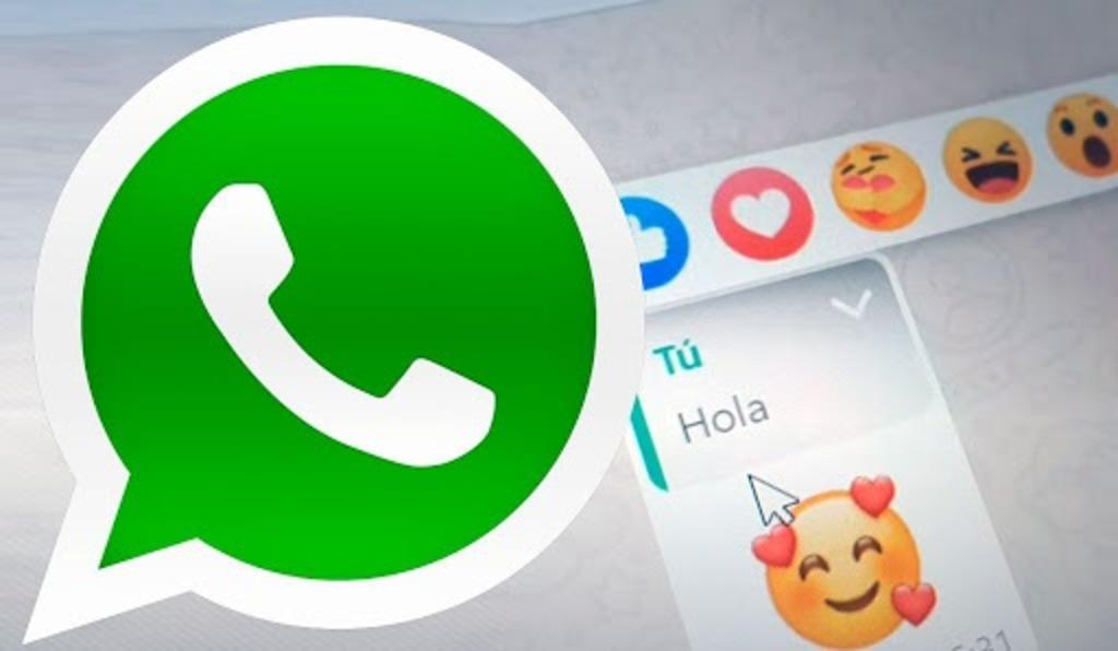 Ahora podrás reaccionar en WhatsApp como en Facebook