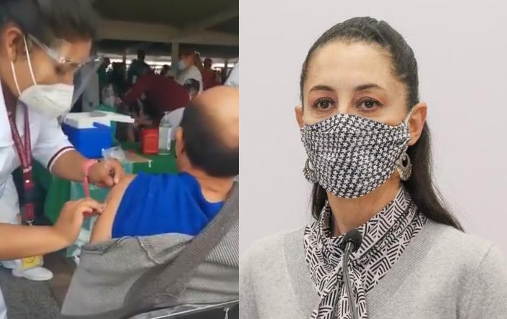 'Fue un error humano': Claudia Sheinbaum sobre la enfermera que fingió suministrar vacuna