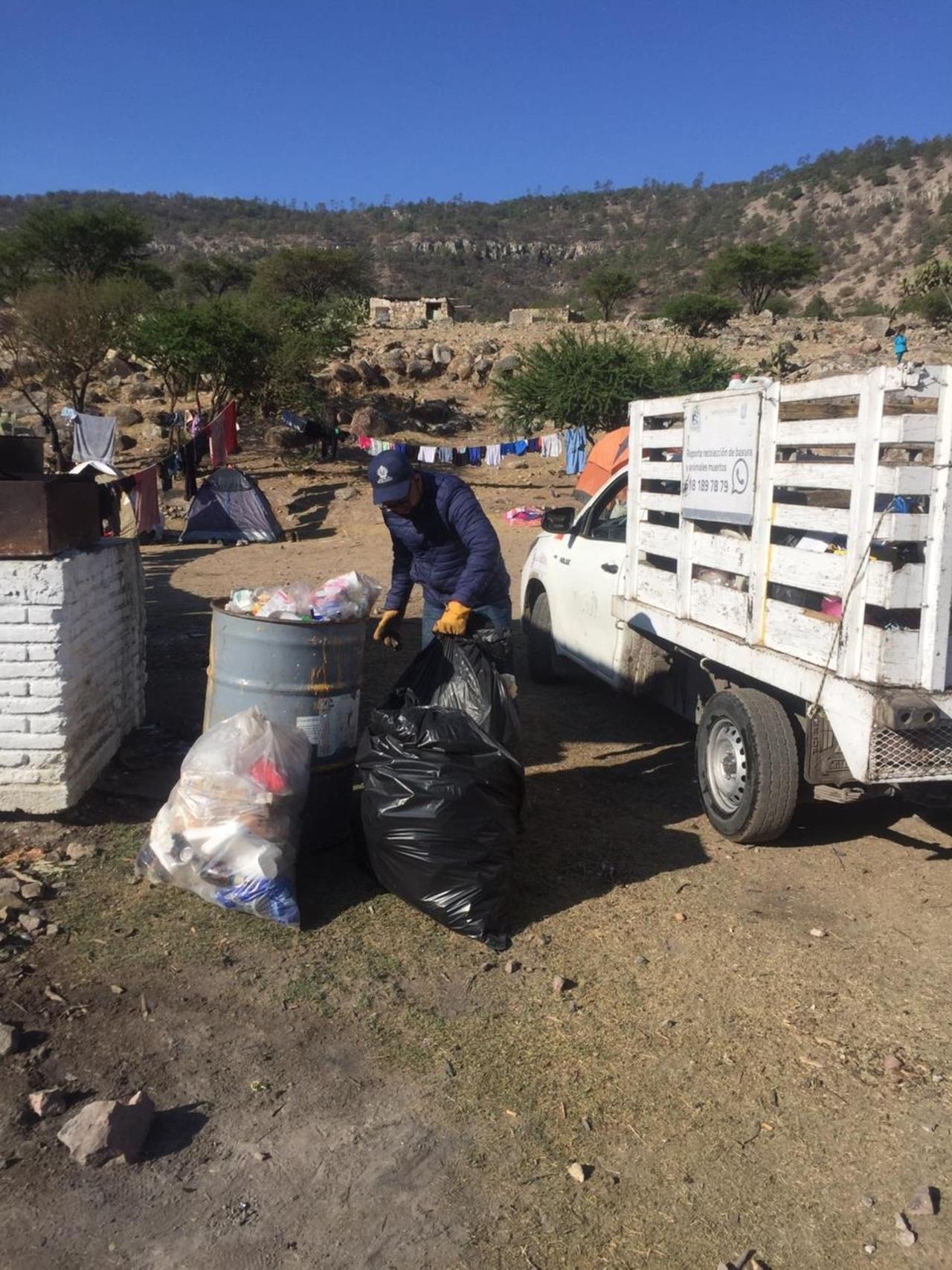 Se multiplicó recolección de basura en vacaciones