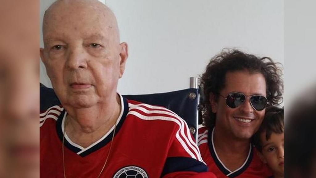 Carlos Vives llora la muerte de su padre