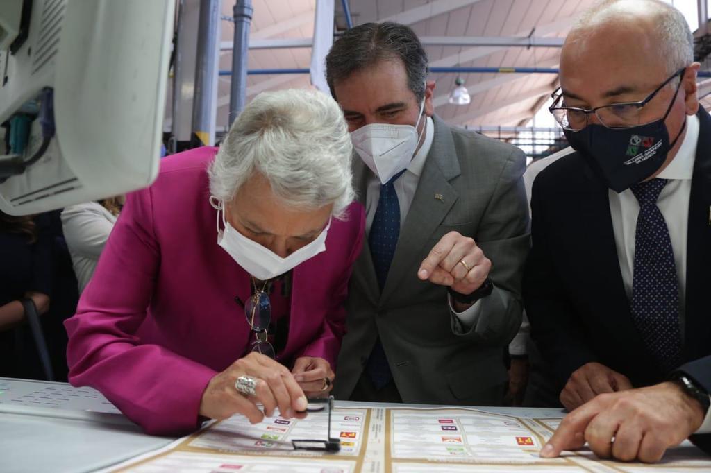 Inicia impresión de boletas electorales