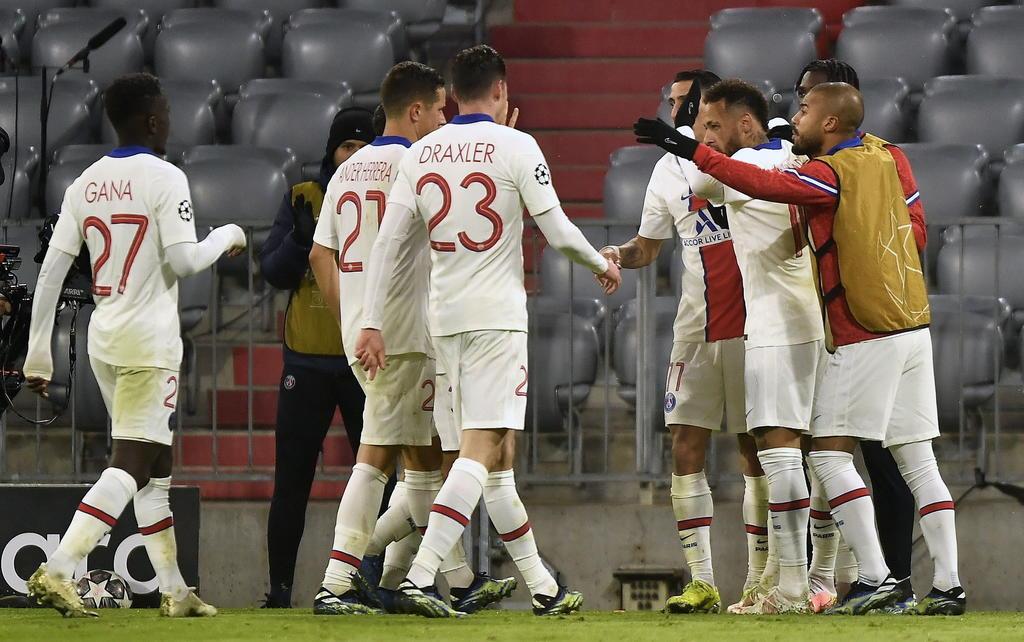 PSG gana la ida de cuartos de final en Champions ante Bayern Múnich