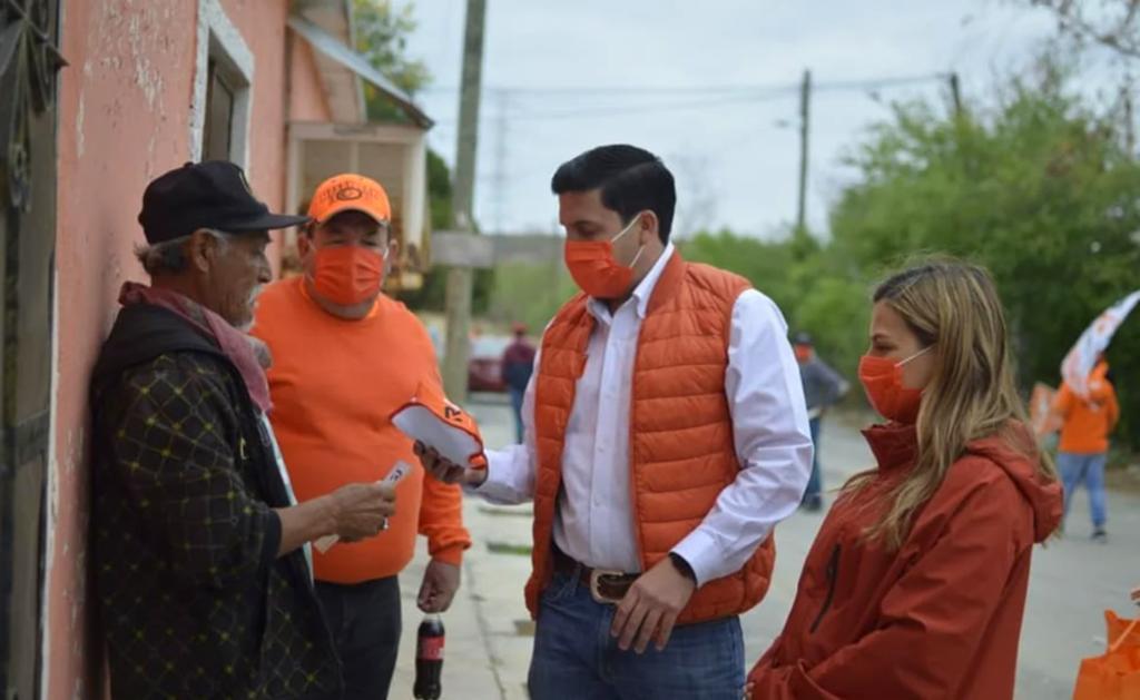 Raúl Cantú, candidato de MC detenido en Nuevo León, rifaba paquetes de carne y cervezas