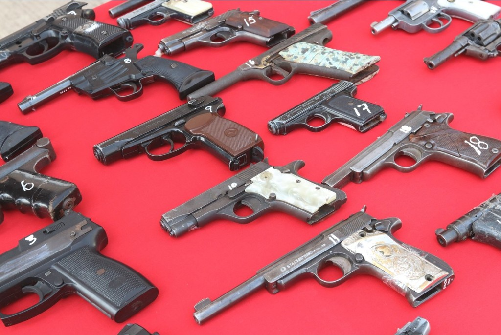 Reforzarán medidas por violencia con armas