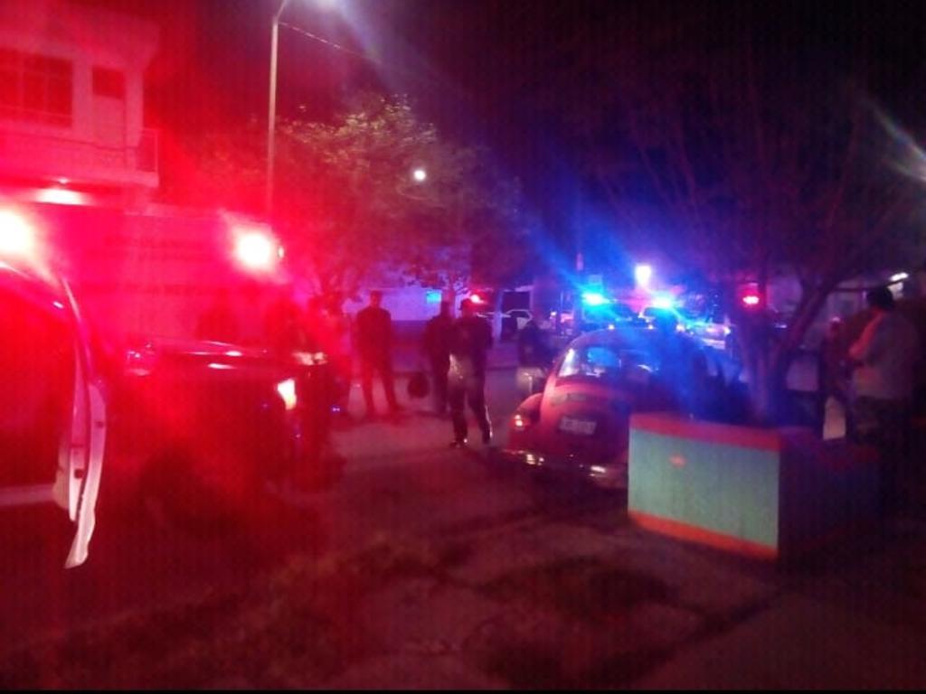 Choca patrulla municipal en el Centro de Gómez Palacio