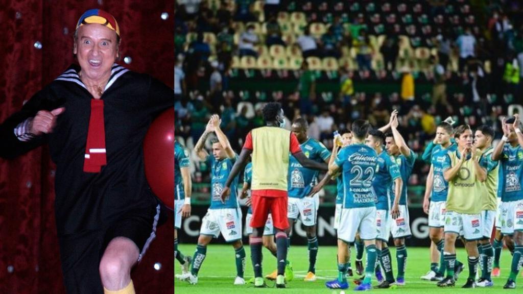 Jugador de Club León celebra su cumpleaños con 'Kiko'