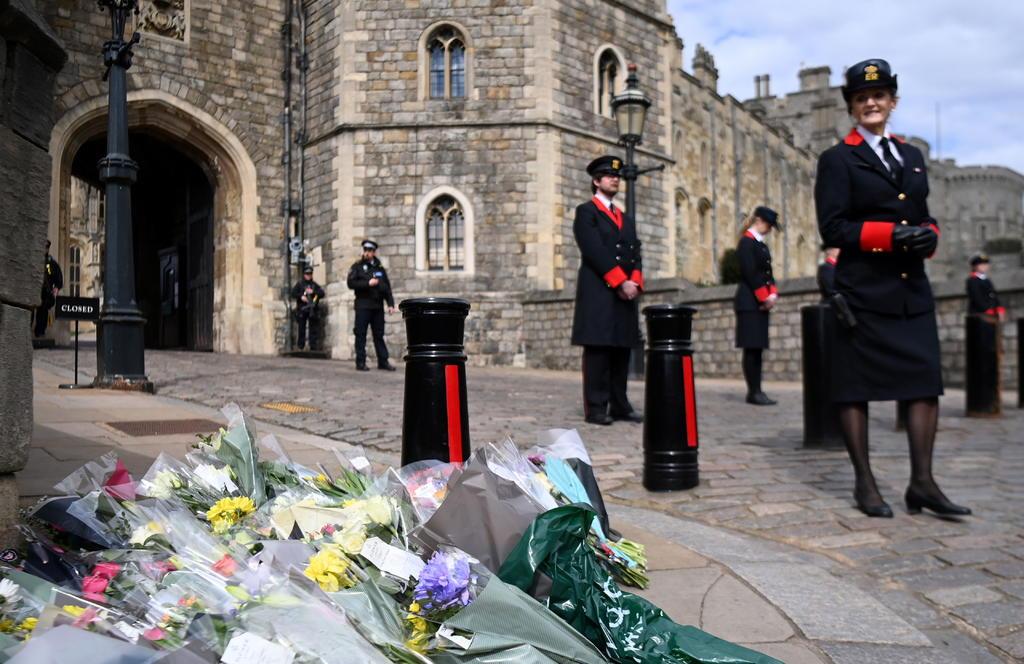 Gran Bretaña, de luto por la muerte del príncipe Felipe