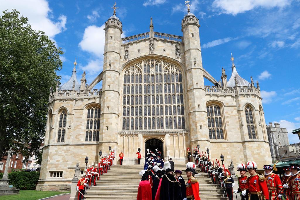 Funeral del príncipe Felipe será en la capilla San Jorge