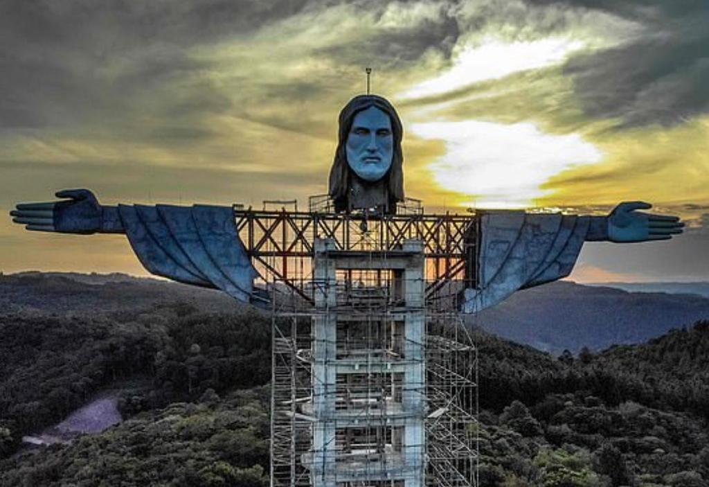 En Brasil ya se construye un Cristo más alto que el de Río de Janeiro