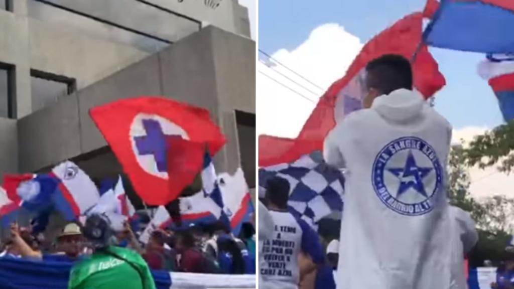 VIDEO: Afición del Cruz Azul se olvida del COVID-19 para alentar a su equipo