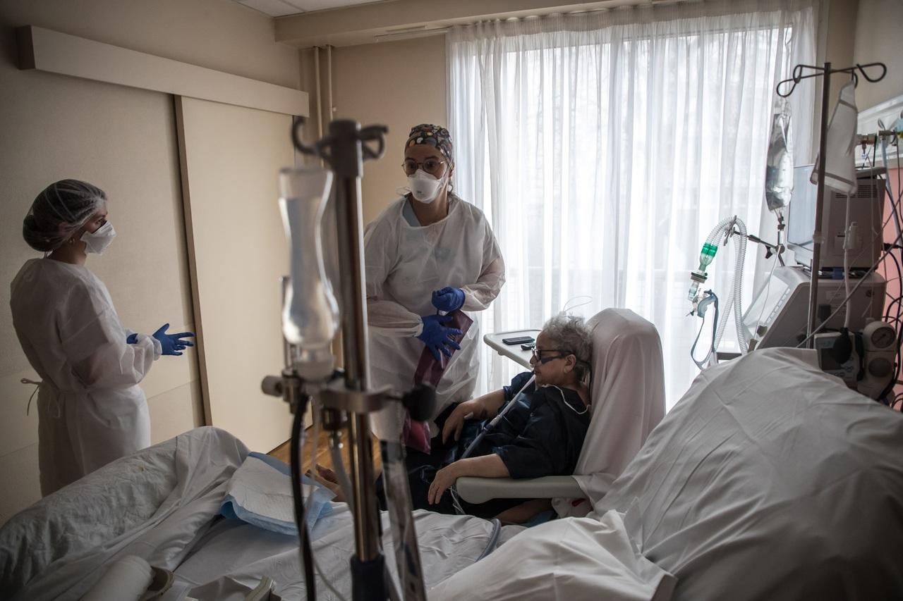 Alta, presión en hospitales franceses