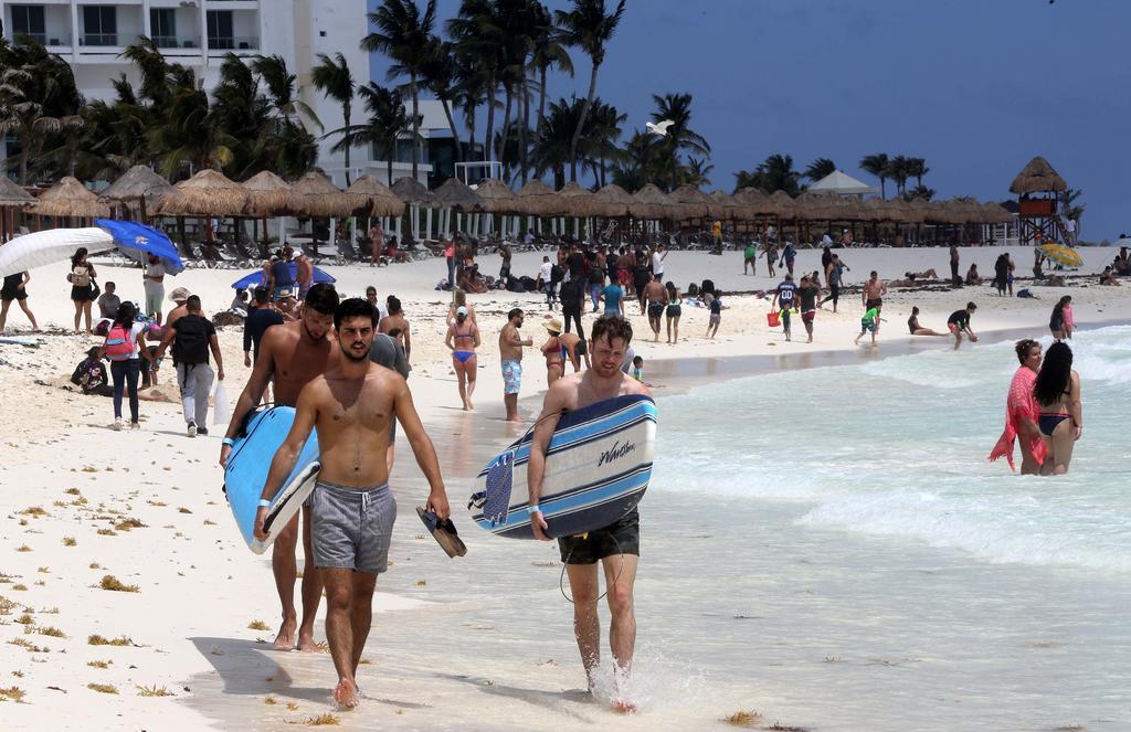 Turismo internacional en México cayó un 57.9 % interanual en febrero