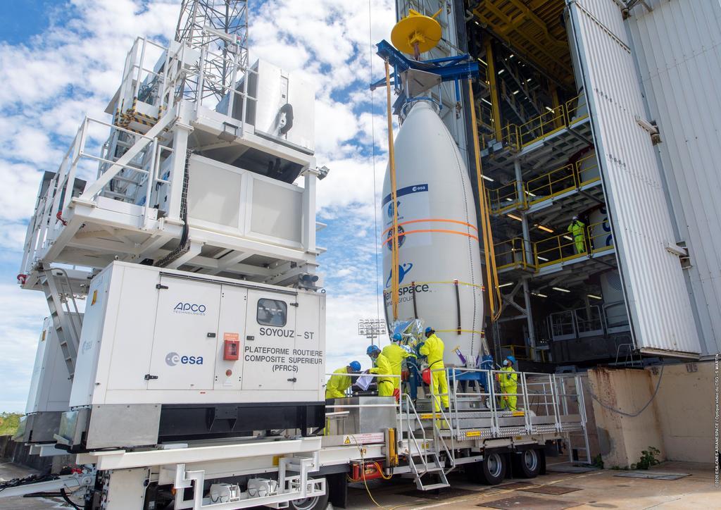 Arianespace enviará gratis al espacio a satélite ganador de su concurso